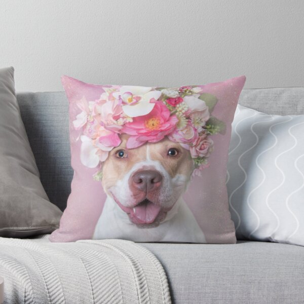 Flower Power, Blossom Throw Pillow