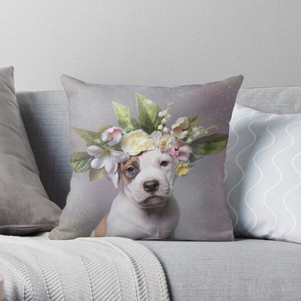 Flower Power, Adam Throw Pillow