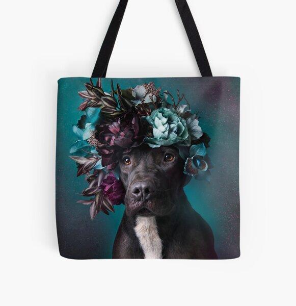 Flower Power, Aden All Over Print Tote Bag