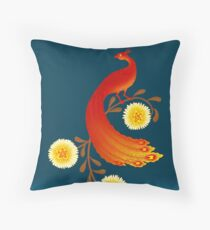 Folklore Firebird Floor Pillow