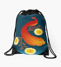 Folklore Firebird Drawstring Bag