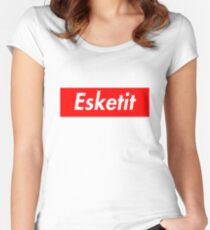 ESKETIT Women's Fitted Scoop T-Shirt