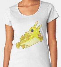 Longhorn Cowfish Women's Premium T-Shirt