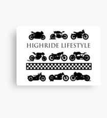 Vintage racing by Highride Lifestyle Canvas Print
