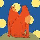Wonder Cats by SusanSanford