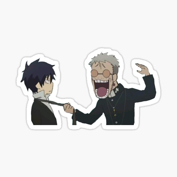 Rin and Shiro Sticker