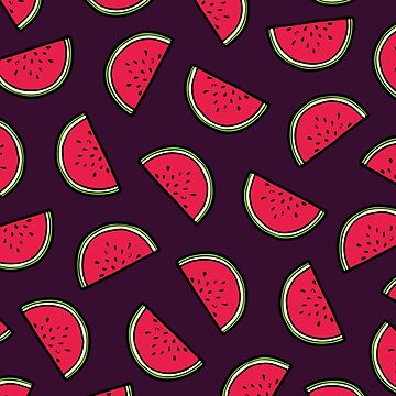 Watermelon Pattern by evannave
