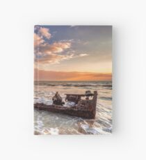 Shipwreck SS Carbon Hardcover Journal