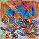 Musical Doodle by Deborah  Benoit