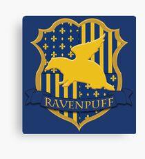 Ravenpuff Canvas Print