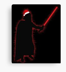 Darth Vader Santa Canvas Print