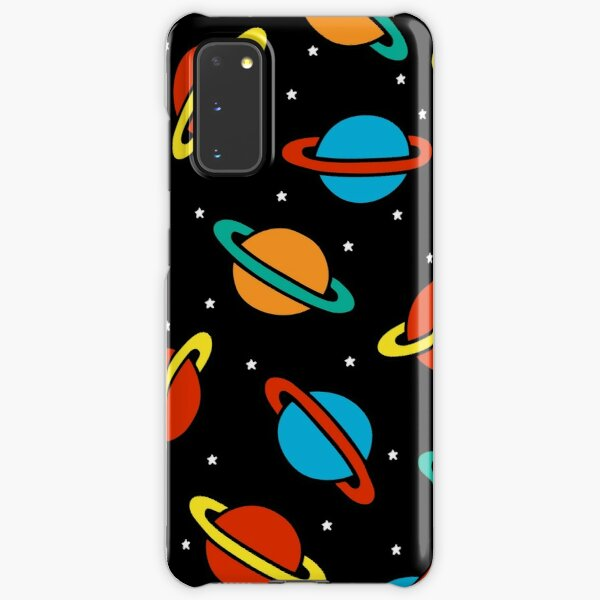 Space Planets Pattern Samsung Galaxy Snap Case