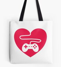 I Heart Gaming Tote Bag