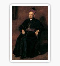 Archbishop William Henry Elder by Thomas Eakins Sticker