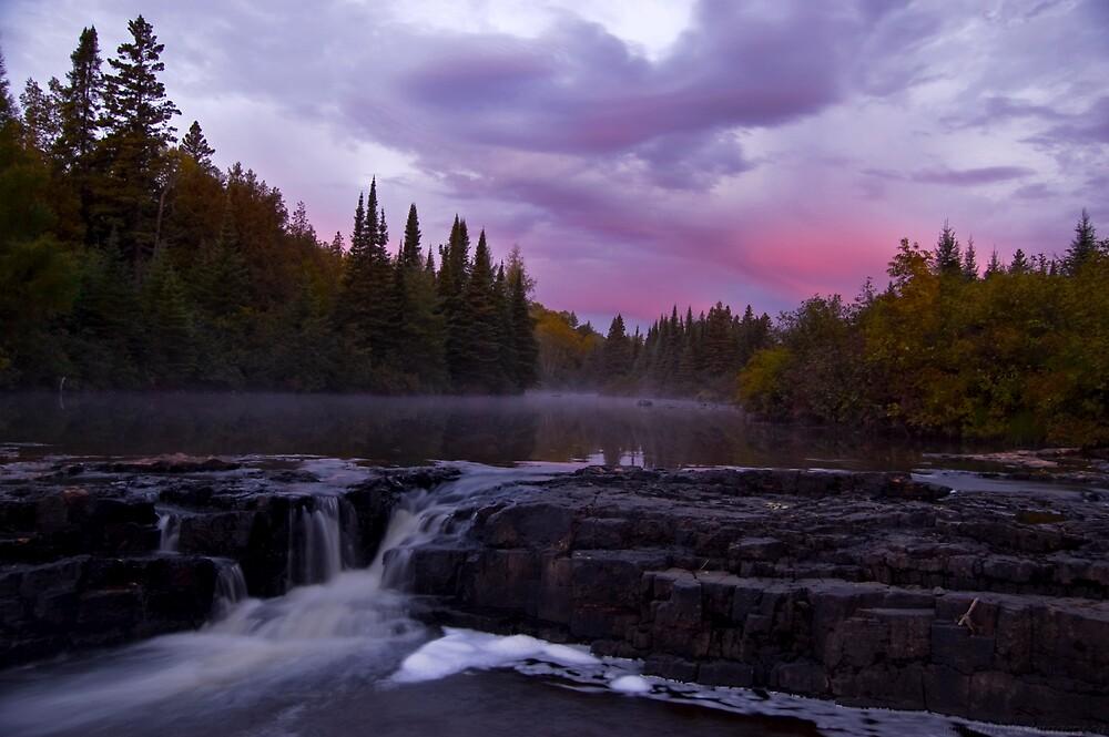 An Autumn River by Ian Benninghaus