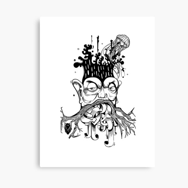 NERD tree Canvas Print