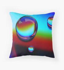 Water Prisms Throw Pillow