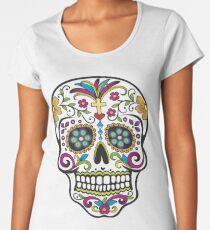 Sugar Skull Women's Premium T-Shirt