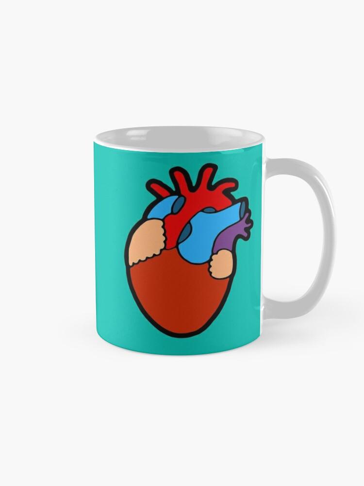 Alternate view of Anatomical Heart Mug
