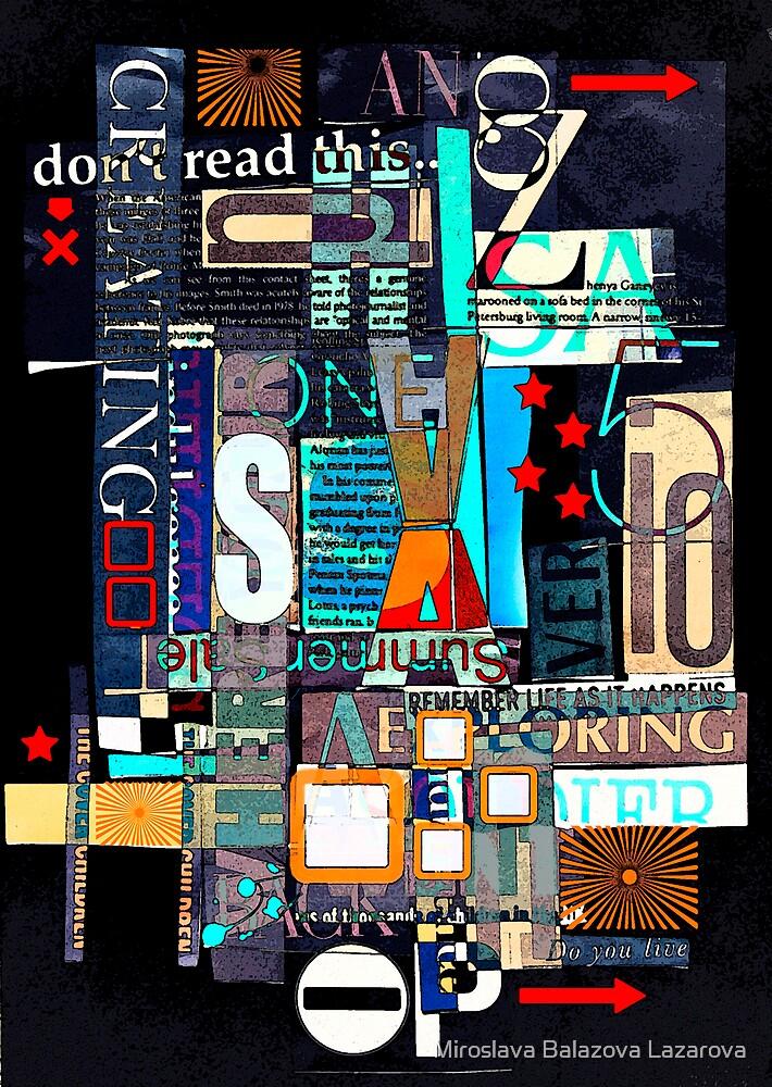 poster by Miroslava Balazova Lazarova