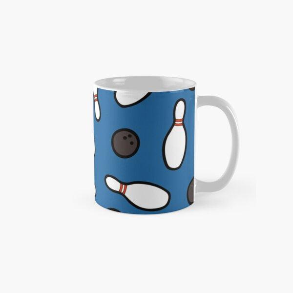 Bowling for Pins Pattern Classic Mug