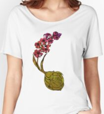 Hyacinth Flower Bulb Fairy - Pink Women's Relaxed Fit T-Shirt