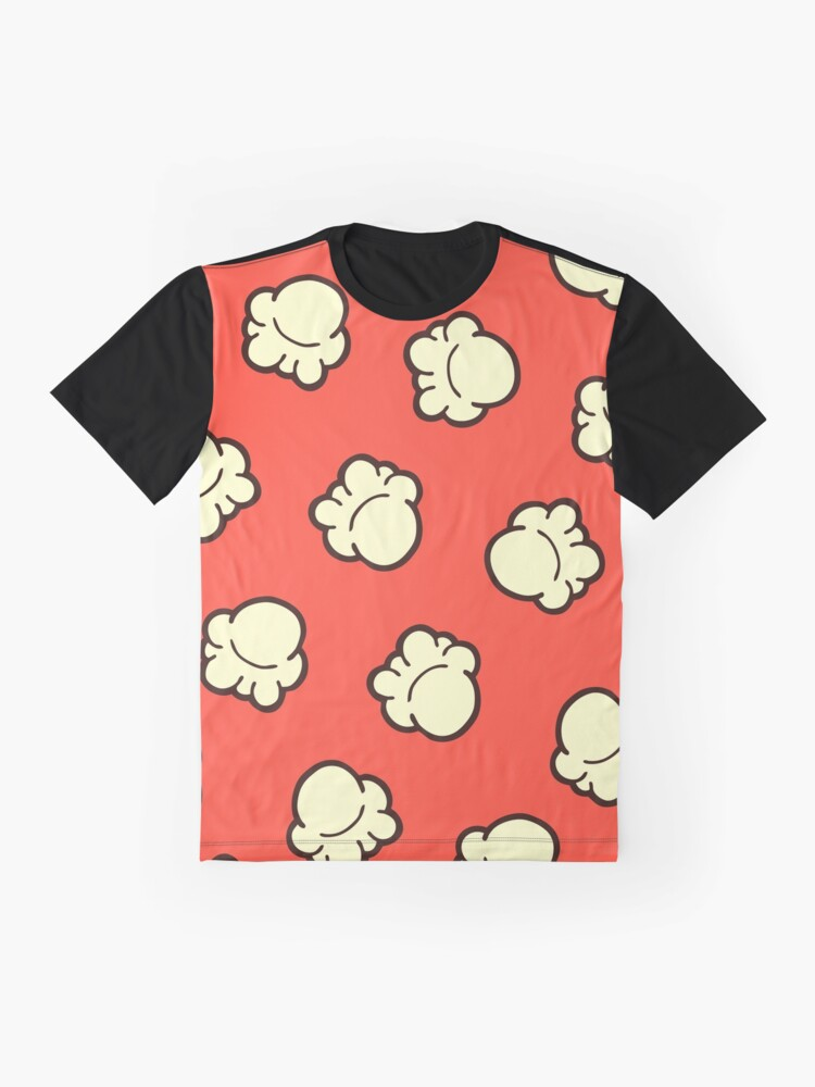 Alternate view of Popcorn Pattern Graphic T-Shirt