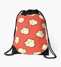 Popcorn Pattern Drawstring Bag