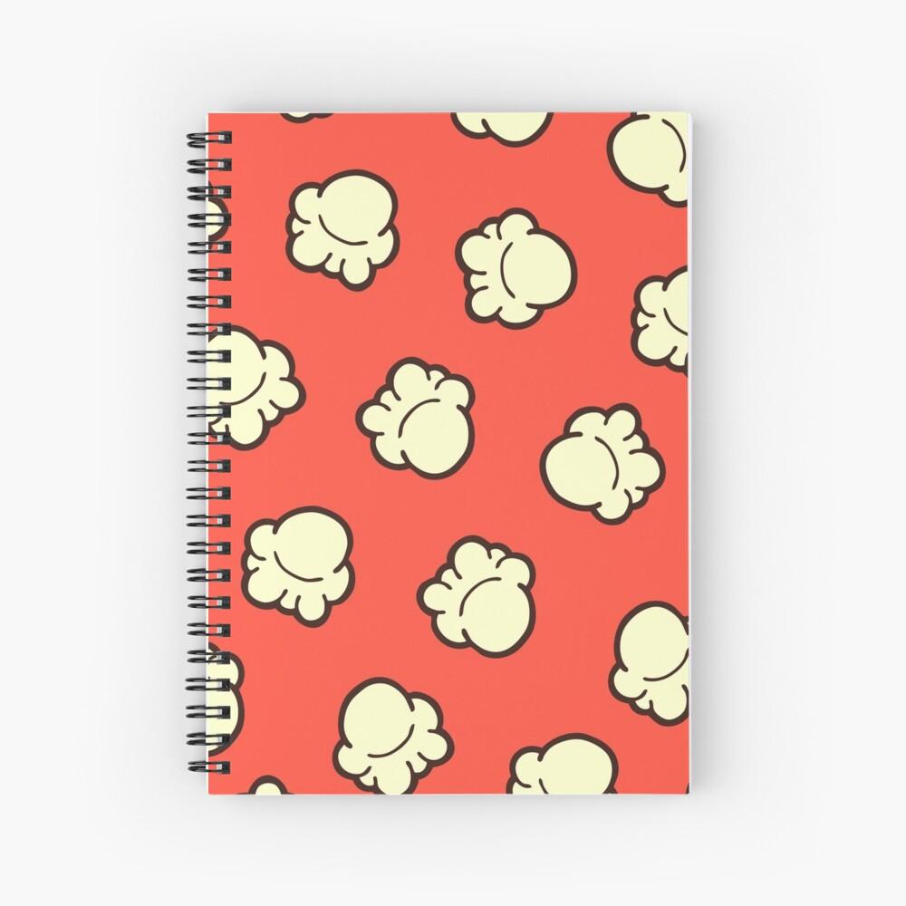Popcorn Pattern Spiral Notebook