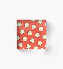 Popcorn Pattern Acrylic Block