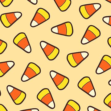 Candy Corn Pattern by evannave