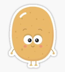 Cute Potato Sticker