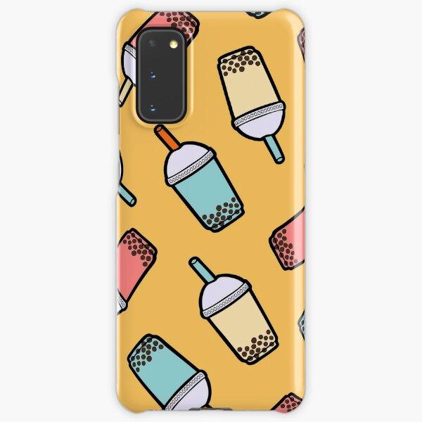 Bubble Tea Pattern Samsung Galaxy Snap Case