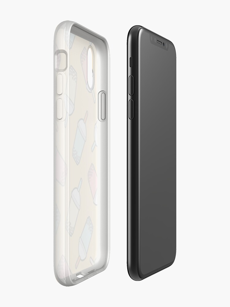 Alternate view of Bubble Tea Pattern iPhone Case & Cover