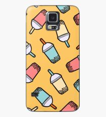 Bubble Tea Pattern Case/Skin for Samsung Galaxy