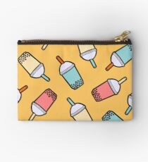 Bubble Tea Pattern Studio Pouch
