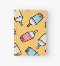 Bubble Tea Pattern Hardcover Journal