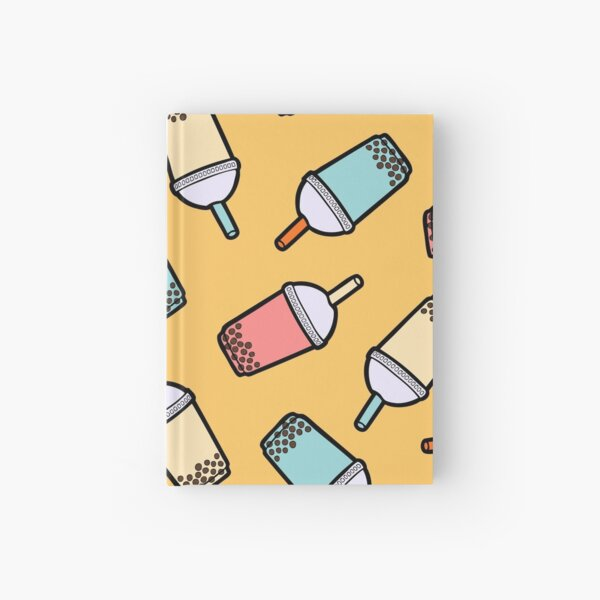 Bubble Tea Pattern Notizbuch