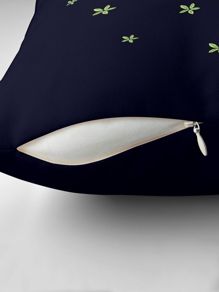 Alternate view of Astro Terrarium Throw Pillow