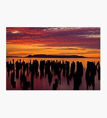 Sleeping Giant Sunrise Photographic Print