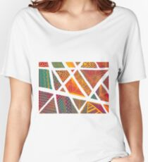 Geometric doodle pattern Women's Relaxed Fit T-Shirt