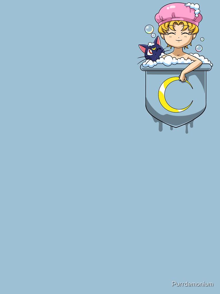 Pocket Usagi Sailor Moon Bath de Purrdemonium