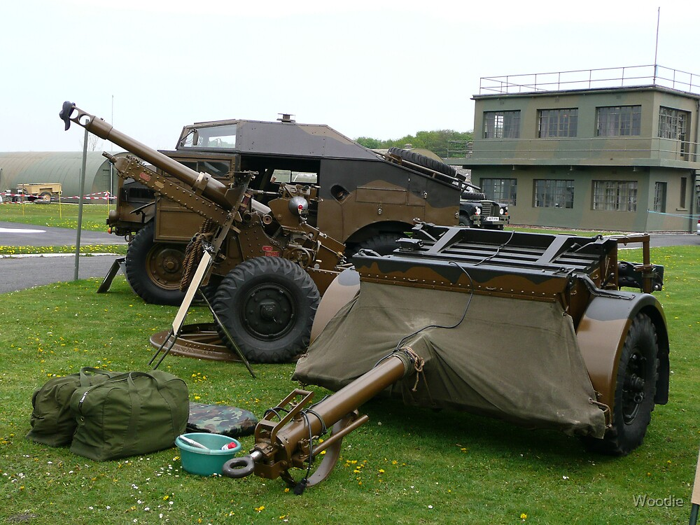 25PDR tractor and trailer (photo) by Woodie