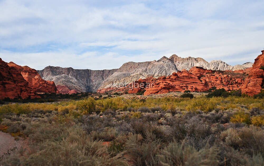 SNOW CANYON STATE PARK - ST. GEORGE UTAH by kotybear