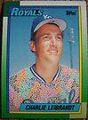 341 - Charlie Leibrandt by Foob's Baseball Cards
