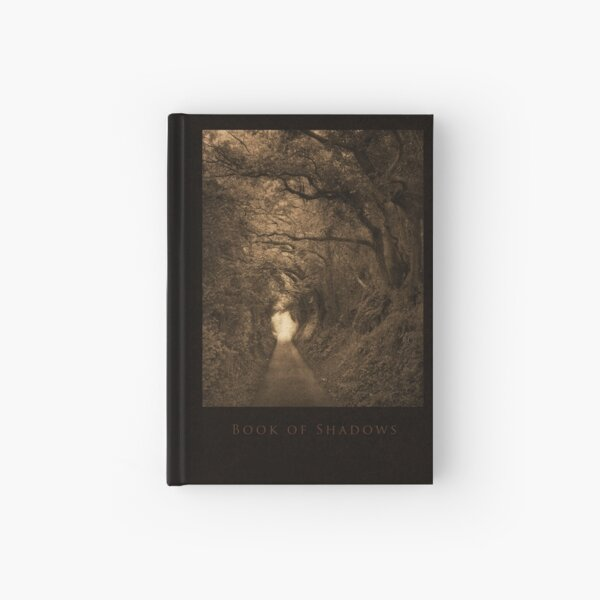 Hardcover Book of Shadows: The Woods to Glastonbury Tor Hardcover Journal