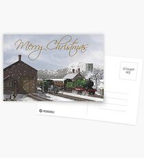 Winter Station - Christmas Postcards