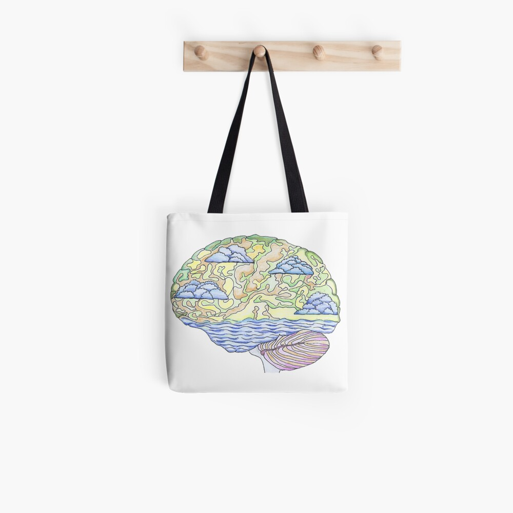 Happy Brain No Pain Tote Bag