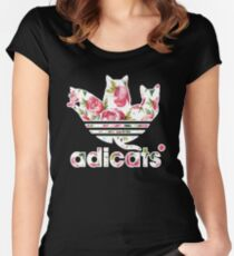ADICATS T-SHIRT Women's Fitted Scoop T-Shirt