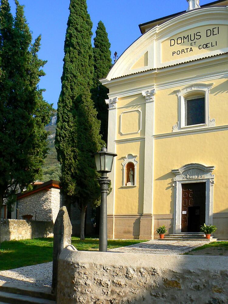Church at Assenza. Lake Garda by JPPhotography